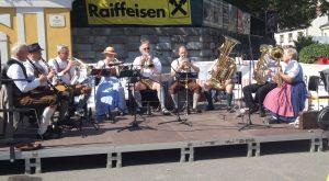 Donautaler Dampfgebläse beim Kierlinger Straßenfest