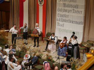 Der G'mischte Satz aus Klosterneuburg spielt beim Leopolditanz auf.