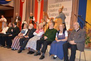Ehrengäste beim Leopolditanz 2018, Eröffnungsansprache durch Gabi Wotke