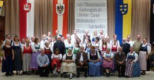 Die Klosterneuburger Volkstanzgruppe beim Leopolditanz 2018